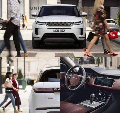 В Сеть слили допремьерные фото Range Rover Evoque