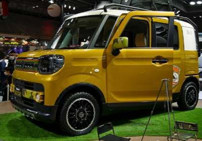 Suzuki анонсировала маленький внедорожник Spacia