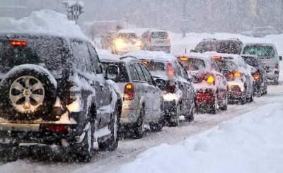 Водителям подсказали, как избежать аварии в морозы