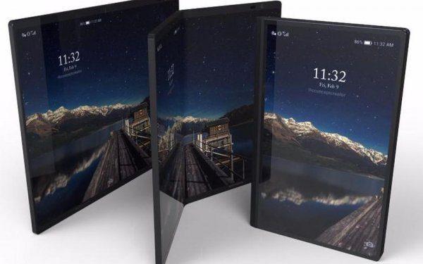 Гибкий смартфон Samsung получит два аккумулятора