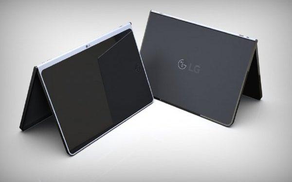LG обзавелась патентом на безрамочный планшет с беспроводной клавиатурой