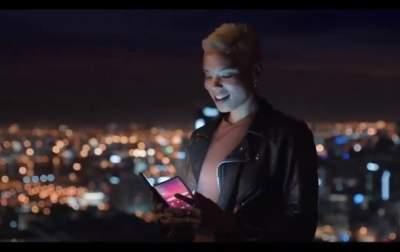 Появился официальный ролик с гибким смартфоном Samsung Galaxy F
