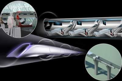 Hyperloop в Украине: эксперты подсчитали, как быстро можно будет добраться в разные города