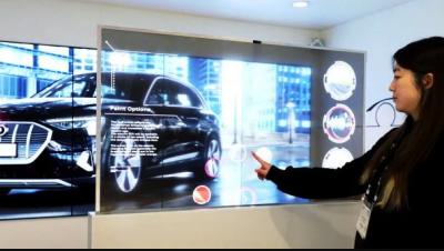 LG показала инновационные дисплеи