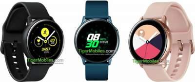 Умные часы Samsung Galaxy Sport выйдут в трёх цветах